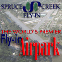The Spruce Creek Fly-in - World famous residential airpark, home of the Spruce Creek Airport 7FL6