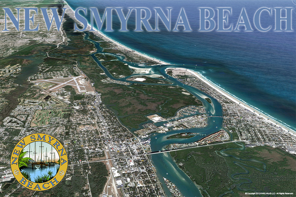 New Smyrna Beach Aereal View