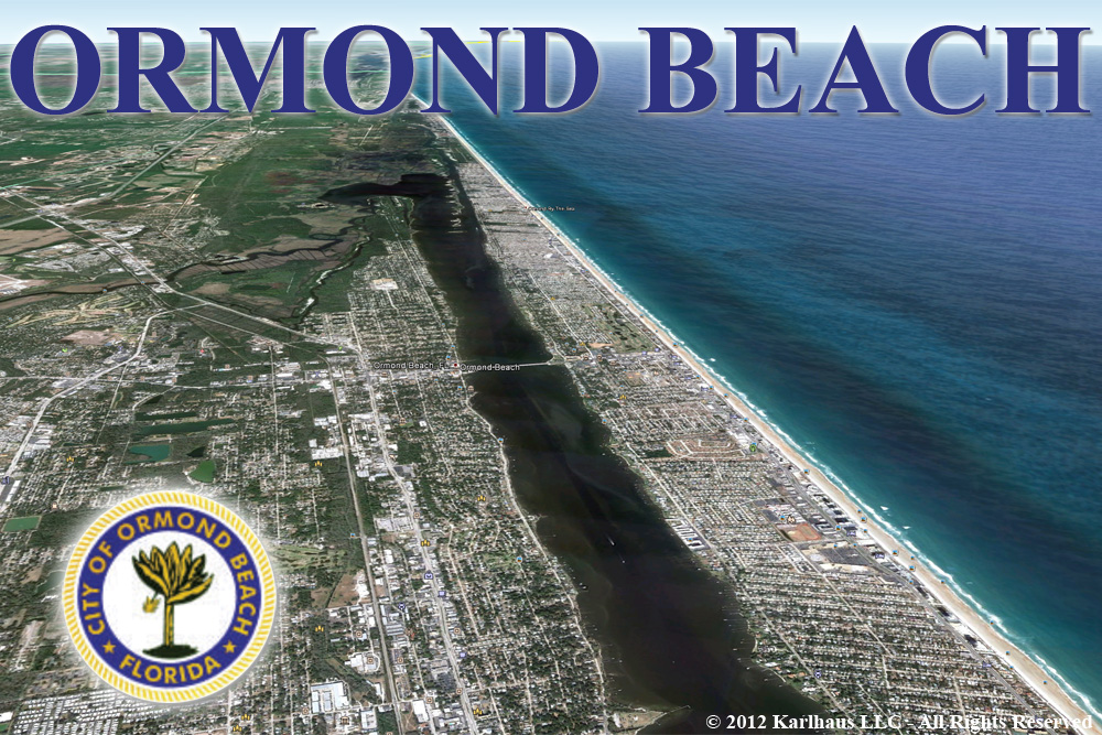 Ormond Beach Aereal View